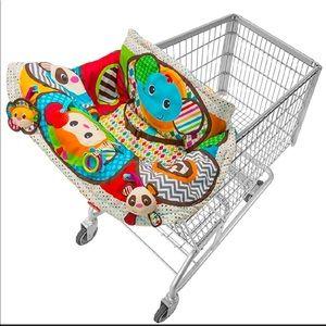Infantino Play & Away Cart Cover & Play Mat Jungle